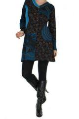 Tunique bleue avec poche Luminia 266606
