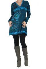 Tunique bleue originale Marion 266586