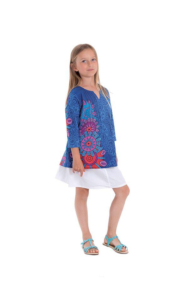 Tunique Bleue pour Enfant Originale et Imprimée Jerry 280655