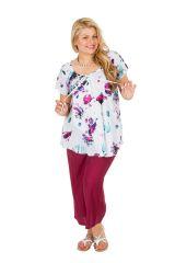 Tunique blouse femme grande taille élégante et chic Acelya