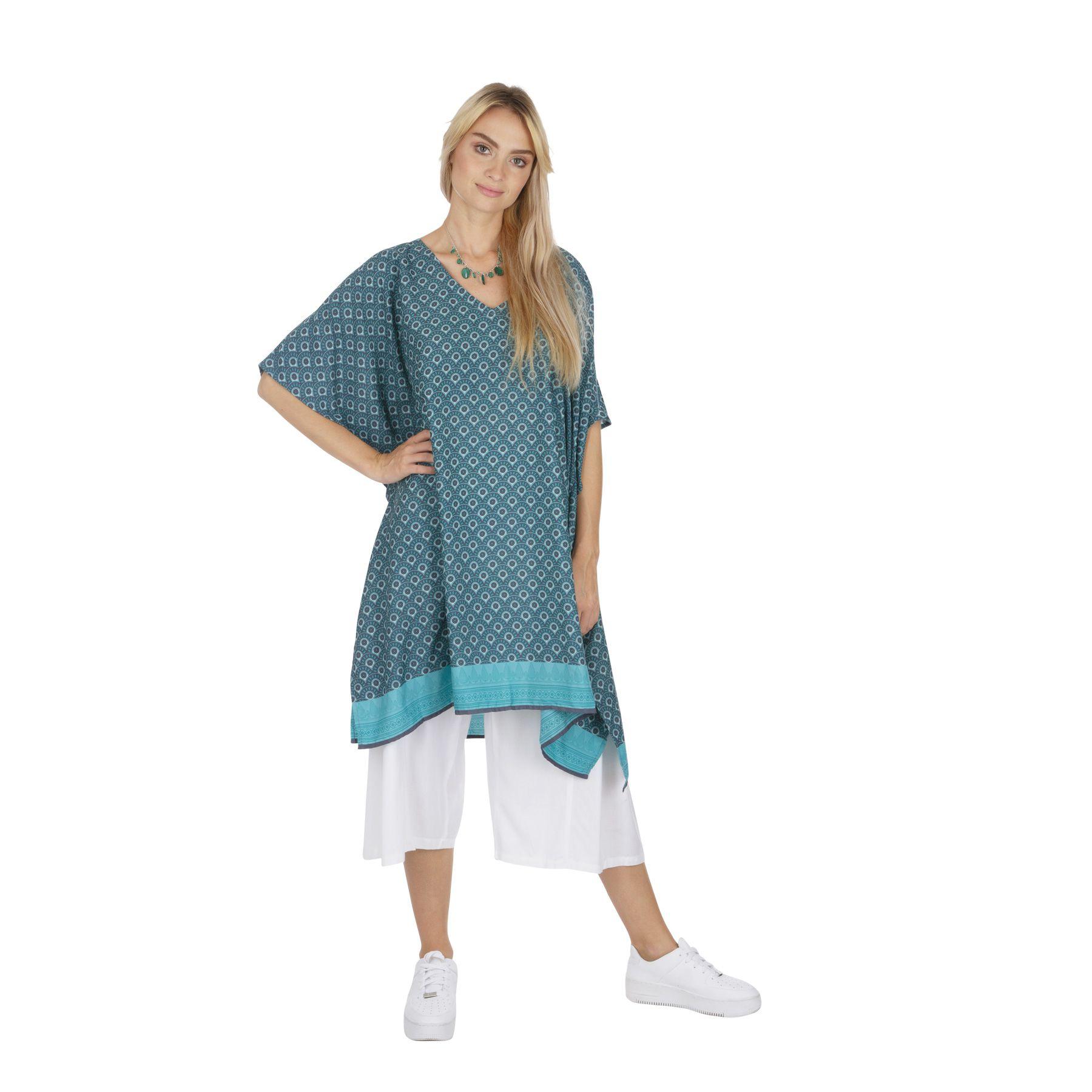 Tunique bohème ample parfaite en robe de plage Ines