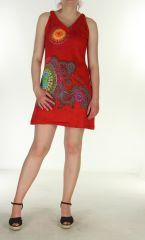 Tunique col V colorée Sunchine 299788