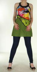 Tunique colorée Païs Verte 299639