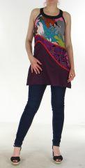 Tunique colorée Païs Violette 299643