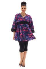 tunique coupe empire avec manches kimono Alix 290505