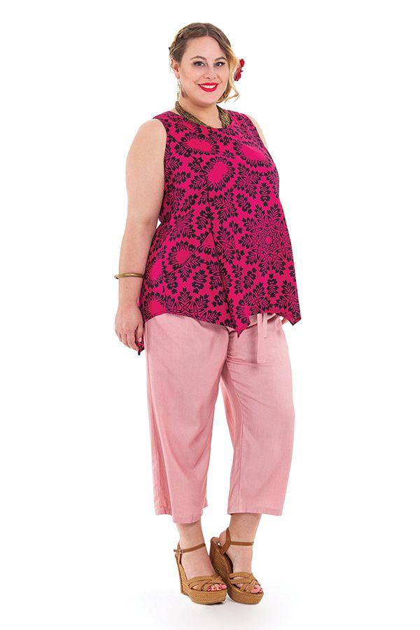 Tunique courte femme en grande taille asymétrique Julia 284739