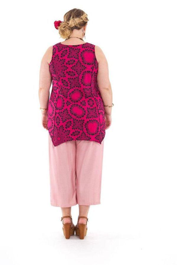 Tunique courte femme en grande taille asymétrique Julia 284740