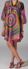 Tunique d'été imprimée et colorée pas chère Adriana 1 270776