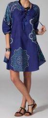 Tunique d'été imprimée et colorée pas chère Adriana 5 270784