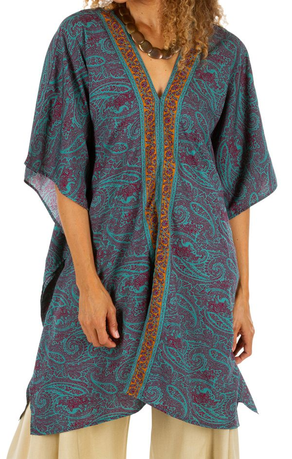 Tunique d'été ou robe de plage pour femme bohème Suarez 314784