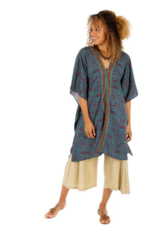 Tunique d'été ou robe de plage pour femme bohème Suarez 314785