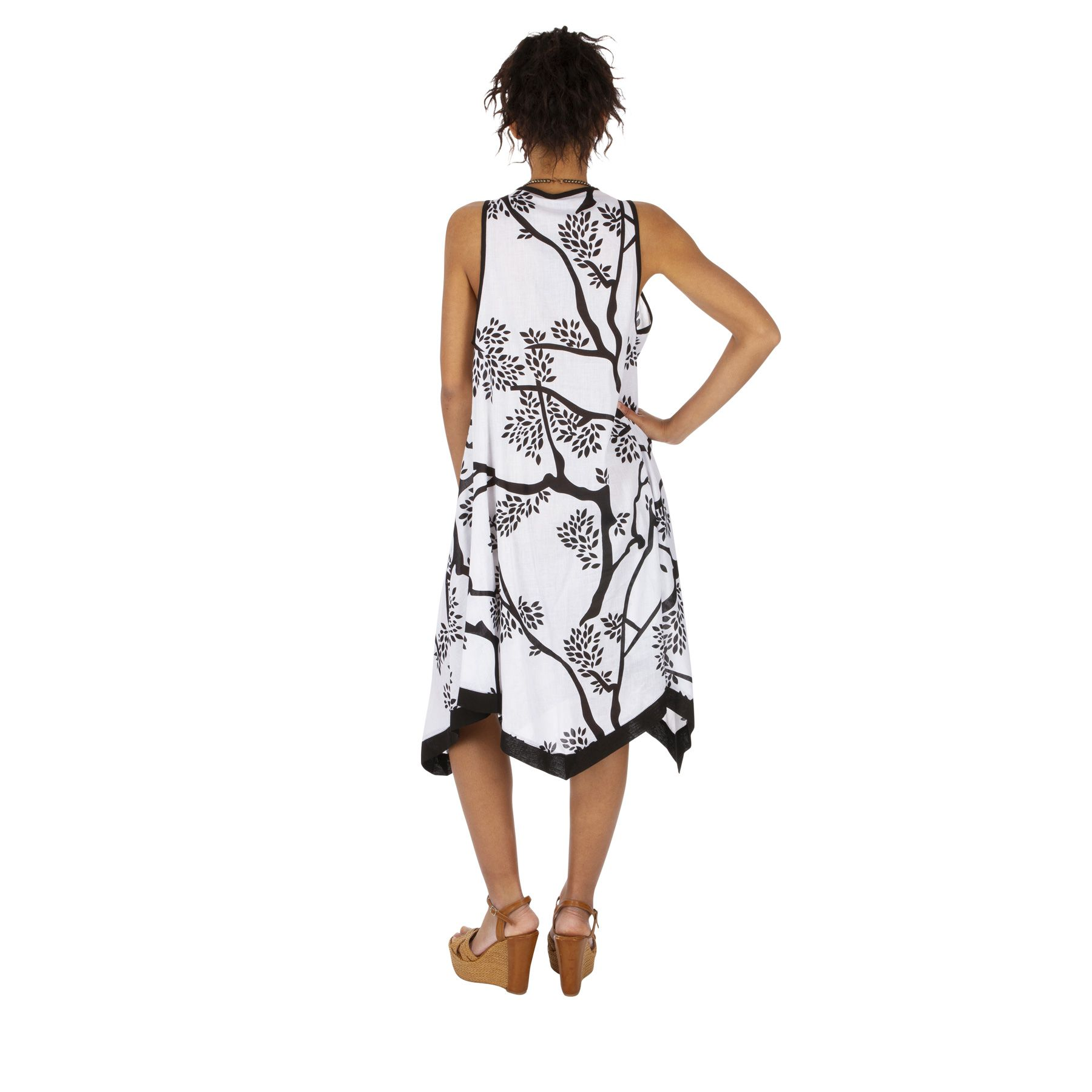 Tunique d\'été ou robe de plage pour femme légère Gwendy