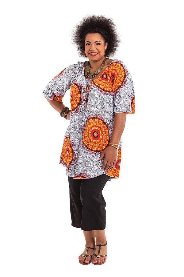 Tunique d'été pour femme en grande taille à mandalas Josita 284652