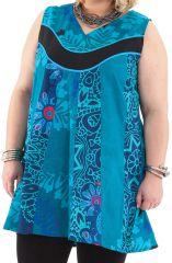 Tunique d'été pour femme en grande taille originale Mélaine 284718