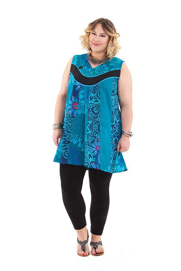 Tunique d'été pour femme en grande taille originale Mélaine 284719