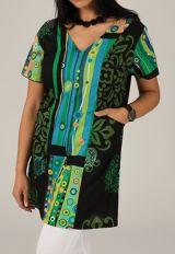 Tunique d'été pour femme imprimée et ethnique Coralia 314974