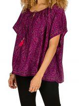 Tunique de mode chic et féminine avec imprimé ethnique Shine 292077
