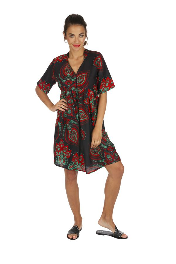Tunique de plage ou robe de plage vêtement femme ethnique Sandrino 316807