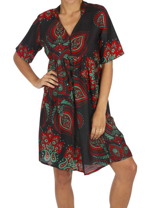 Tunique de plage ou robe de plage vêtement femme ethnique Sandrino 316808