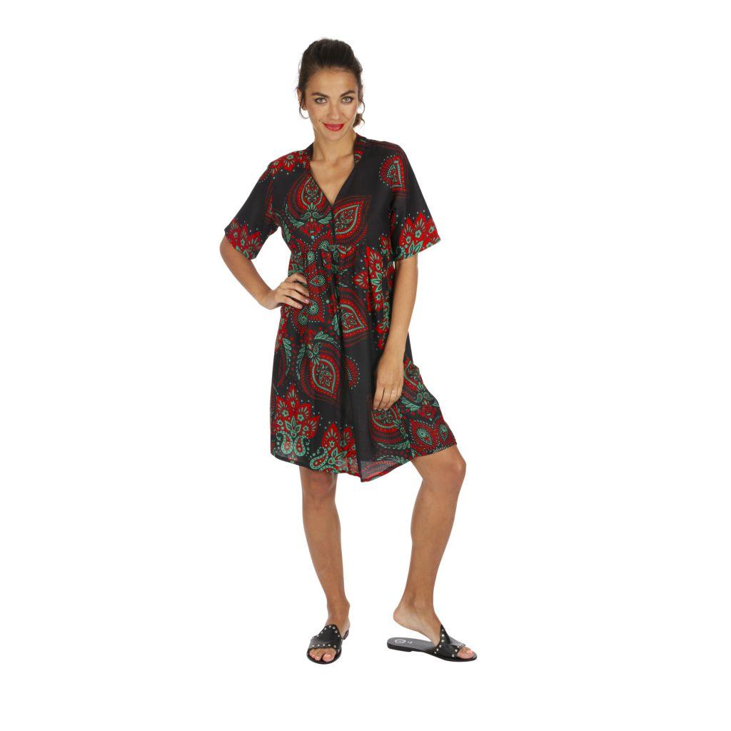 Tunique de plage ou robe de plage vêtement femme ethnique Sandrino 316810