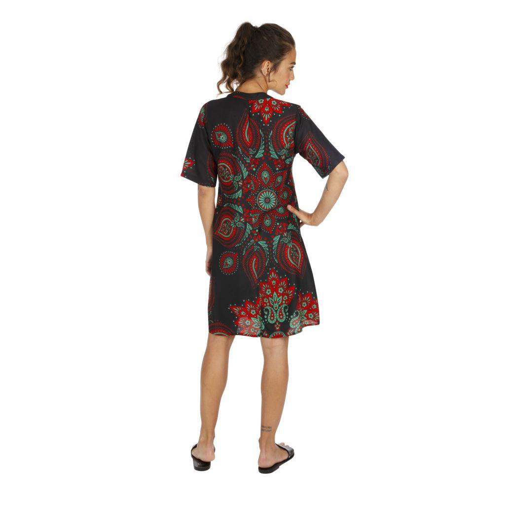 Tunique de plage ou robe de plage vêtement femme ethnique Sandrino 316811