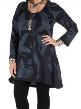 Tunique en coton élégante avec imprimés Bishal 301479