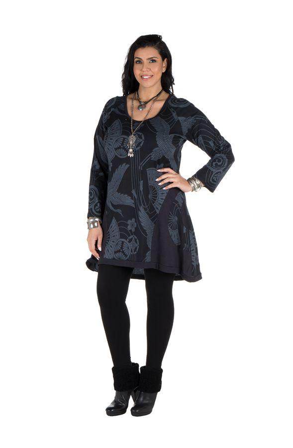Tunique en coton élégante avec imprimés Bishal 301480