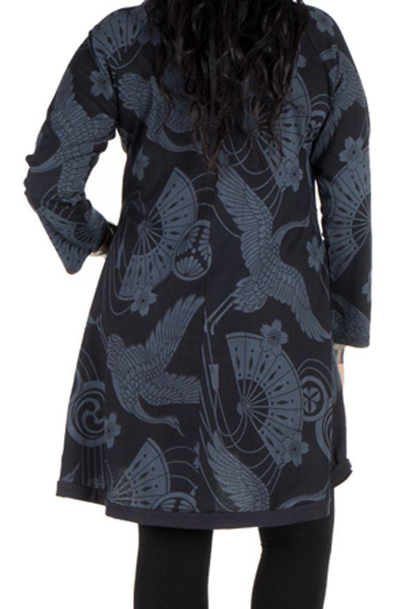 Tunique en coton élégante avec imprimés Bishal 301485