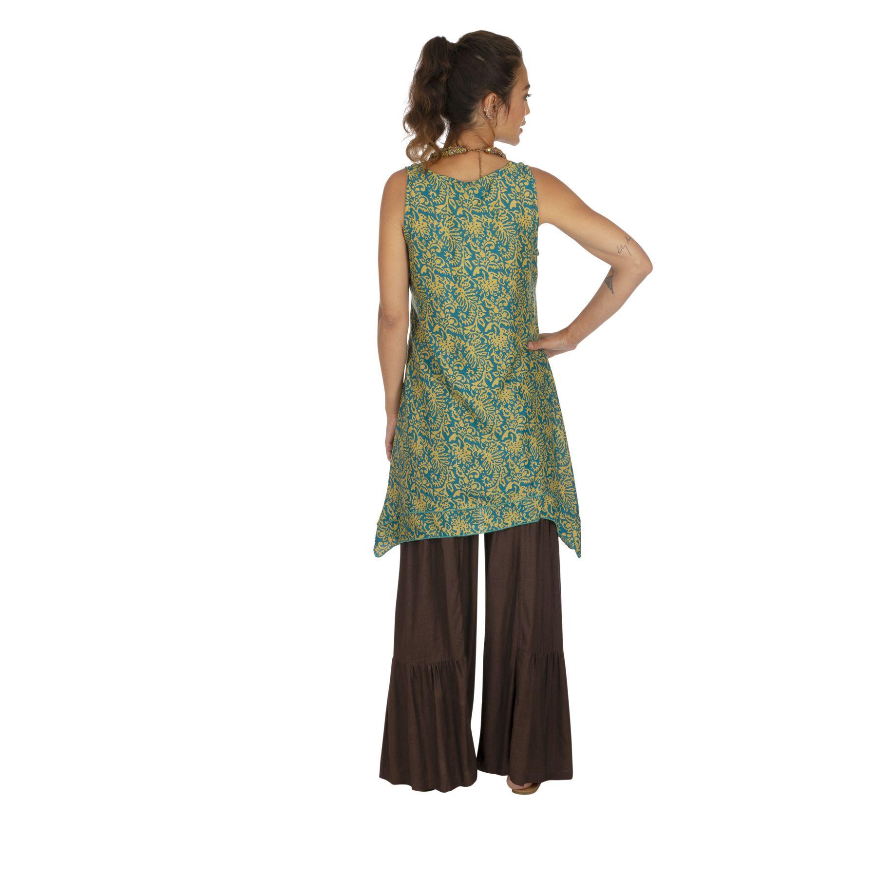 Tunique été femme ample et fluide style bohème Letavy 319873