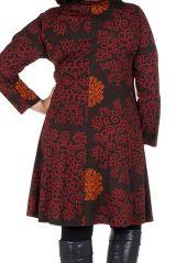 Tunique Ethnique aux couleurs d'automne en Grande taille Lazy 301098