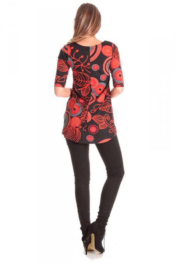 Tunique ethnique et chic avec imprimé floral Livia 286468