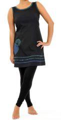 Tunique ethnique originale pour femme en coton Kanopi 305478