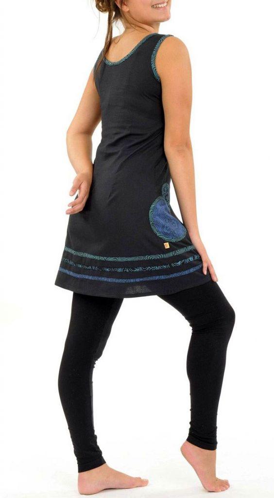 Tunique ethnique originale pour femme en coton Kanopi 305479