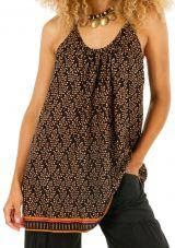 Tunique femme à fines bretelles avec une coupe ample Candy 306526