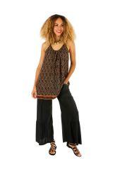 Tunique femme à fines bretelles avec une coupe ample Candy 306527
