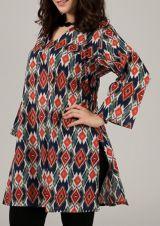 Tunique femme à manches longues originale et colorée Yala 314982