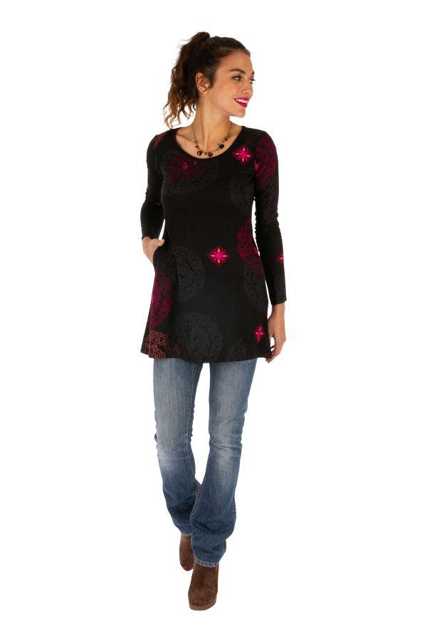 Tunique femme à poches originale et colorée Kaduna 313355