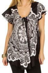 Tunique femme arabesque en coton pour l' été Camilia 292245