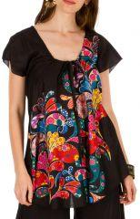 Tunique femme bohème en coton pour l' été Elina 292180