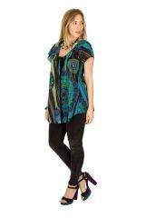Tunique femme col rond en coton pour l' été Elina 289625
