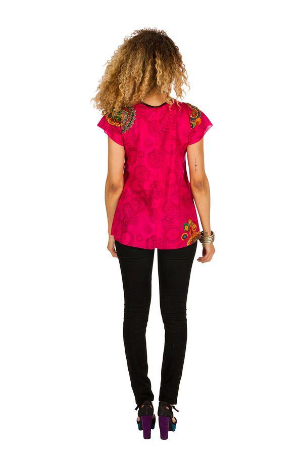 Tunique femme colorée en coton pour l' été Jennyfer 289565