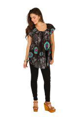 Tunique femme ethnique en coton pour l' été Alexia 289587