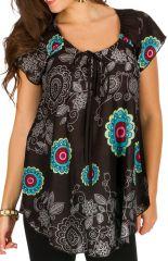 Tunique femme ethnique en coton pour l' été Alexia 292192