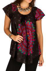 Tunique femme ethnique en coton pour l' été Jennyfer 292204
