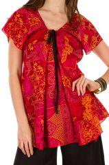 Tunique femme ethnique en coton pour l'été Miranda 292273