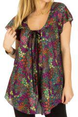 Tunique femme floral en coton pour l' été Jennyfer 292216