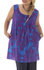 Tunique femme généreuse style fantaisie Lolly 295727