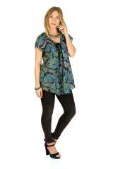 Tunique femme glamour en coton pour l' été Elina 289623