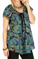 Tunique femme glamour en coton pour l' été Elina 292168