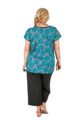 Tunique femme grande taille à col rond sans manche Marie 306414